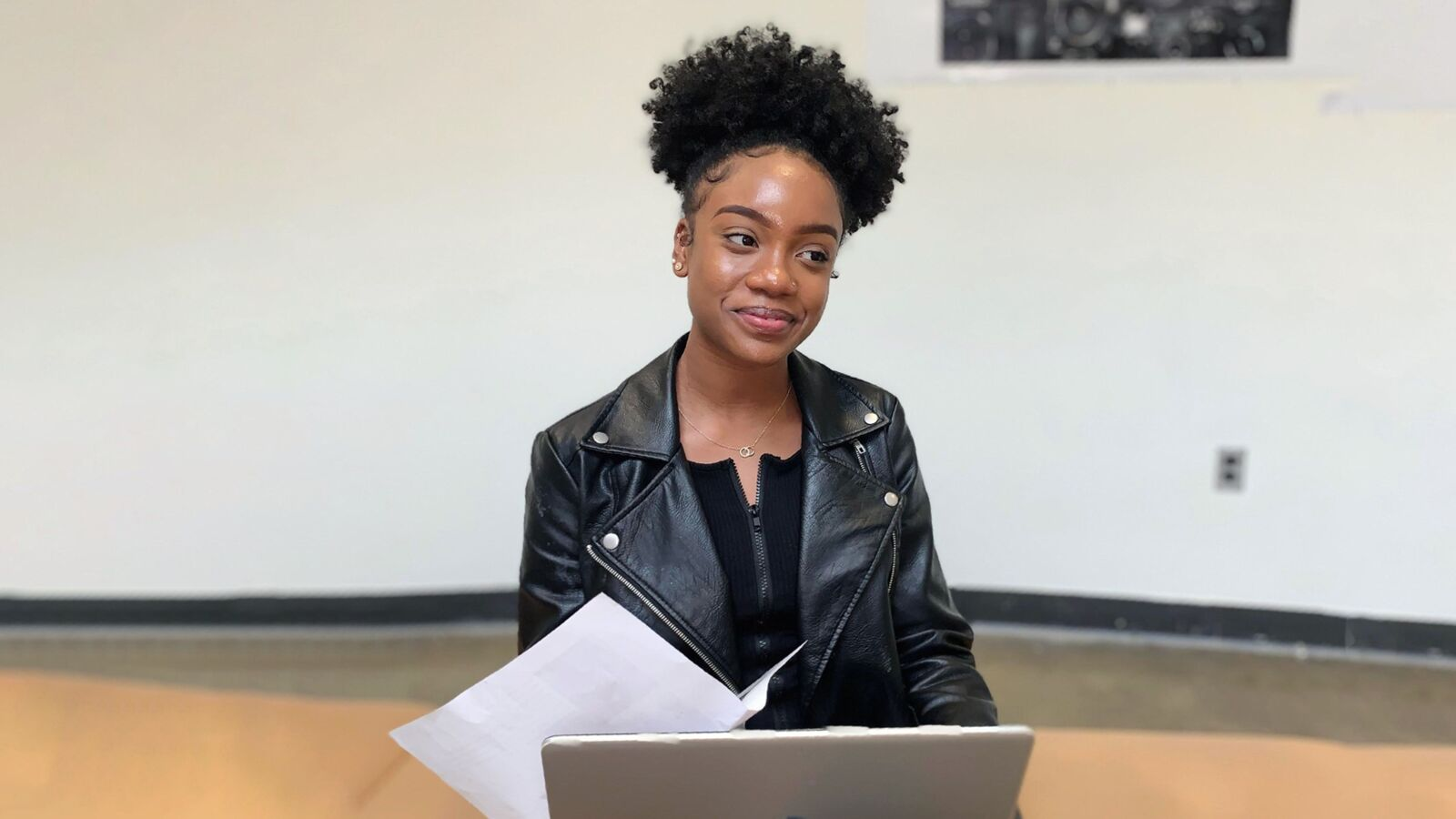 An OppNet student participates in the organization's college and career success programs. The organization recently launched a new initiative called UninterruptED to provide virtual programming to students nationwide.